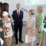Veleposlanik s Predsjednicom i članicama Društva
