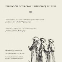 Predodžbe o Turcima u Hrvatskoj