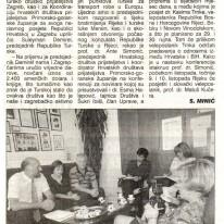Uskoro otvorenje turskog konzulata u rijeci 1997 - Novi List